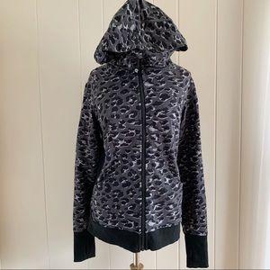 LULULEMON scuba printed hooded sweatshirt size 8